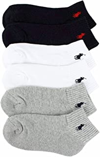 Polo Kids Socks for Boys Quarter High with Polo Player (2-12 Years)