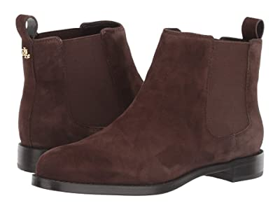 LAUREN Ralph Lauren Haana (Dark Brown Suede) Women