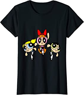 Womens Power Puff Girls T-Shirt T-Shirt