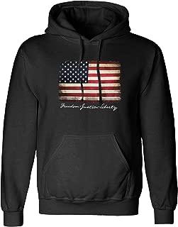 mens american flag sweatshirt