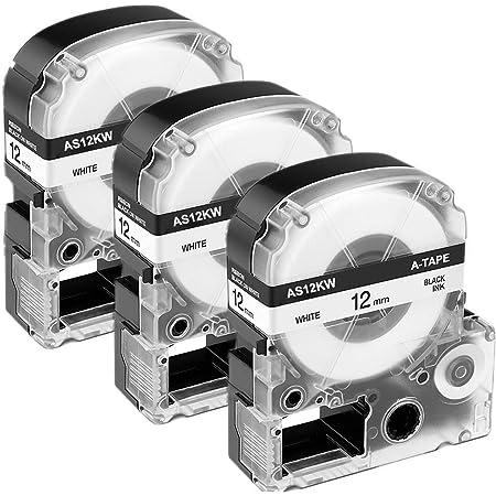 OK500P SC24YW OK900P por LC-6YBW vhbw casete de cinta cartucho 24mm para Epson LW-700 OK720 LW-900P
