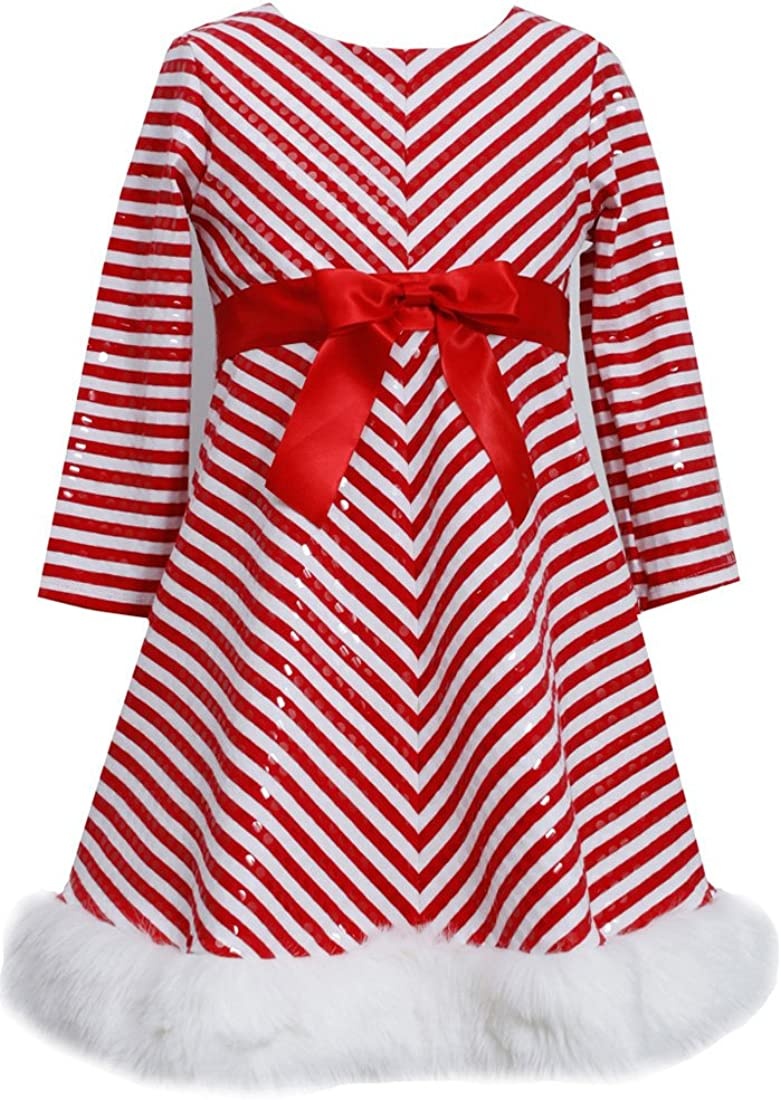 Big Girls Tween Mitered Santa Dress