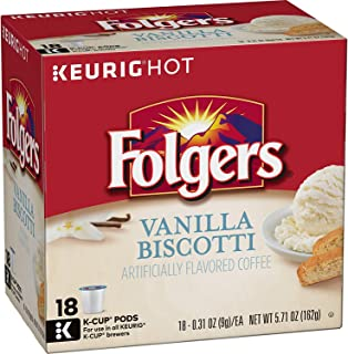 folgers toasted hazelnut coffee