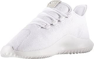 adidas Originals Men's Tubular Shadow Running Shoe, Black/White, 9 D(M) US