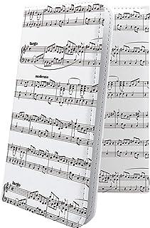 LG G2 mini LG-D620J ケース 手帳型 女の子 女子 女性 レディース 楽譜 譜面 エルジー ミニ ビッグローブ ビグローブ ジー2 デザイン イラスト G2mini 楽器 音楽 音符 11518-ngeoja-1000129...