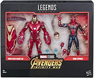 Marvel Legends - Iron Man Mark 50 y Iron Spider (Hasbro E6341E48)