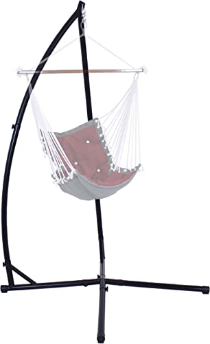 lowest Sunnydaze lowest Hammock Chair Stand Only - Metal X-Stand sale for Hanging Hammock Chair - Indoor or Outdoor Use - Durable 250 Pound Capacity outlet online sale