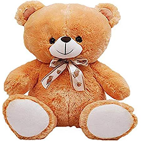 HUG 'n' FEEL SOFT TOYS Teddy Bear 2 feet | Birthday Gift for Girls/Wife, Boyfriend/Husband, Wedding/Anniversary Gift for Couple Special, Baby Toys Gift Items, Soft Toy, Extra Large (2 Feet, Brown)