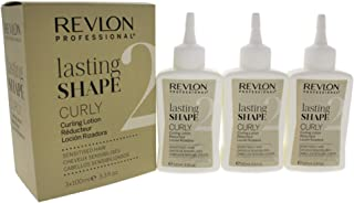 Revlon Lasting Shape Curly Sensitised Hair Lotion for Unisex, No. 2, 3 Count