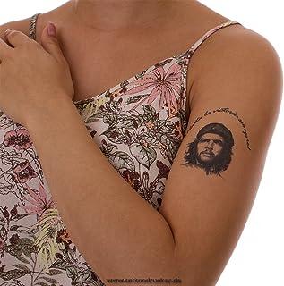 2 x Che Guevara Tattoo - Hasta la Victoria SiePre! - Che Guevara Comandante (2)