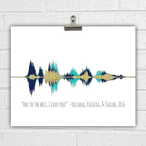 The Book of Love - 11x17 Framed Soundwave print