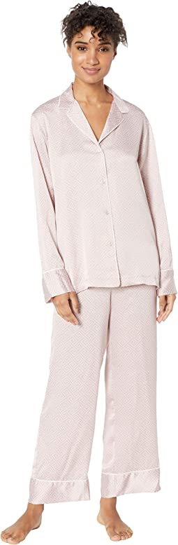 Labyrinth Satin PJ Set