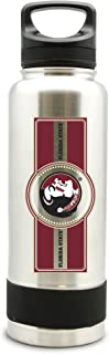 NCAA Florida State Seminoles 38oz Double Wall Stainless Steel Large Water Bottle