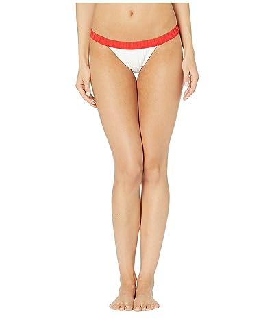 Billabong Sunny Rib Hike Bikini Bottom (White) Women