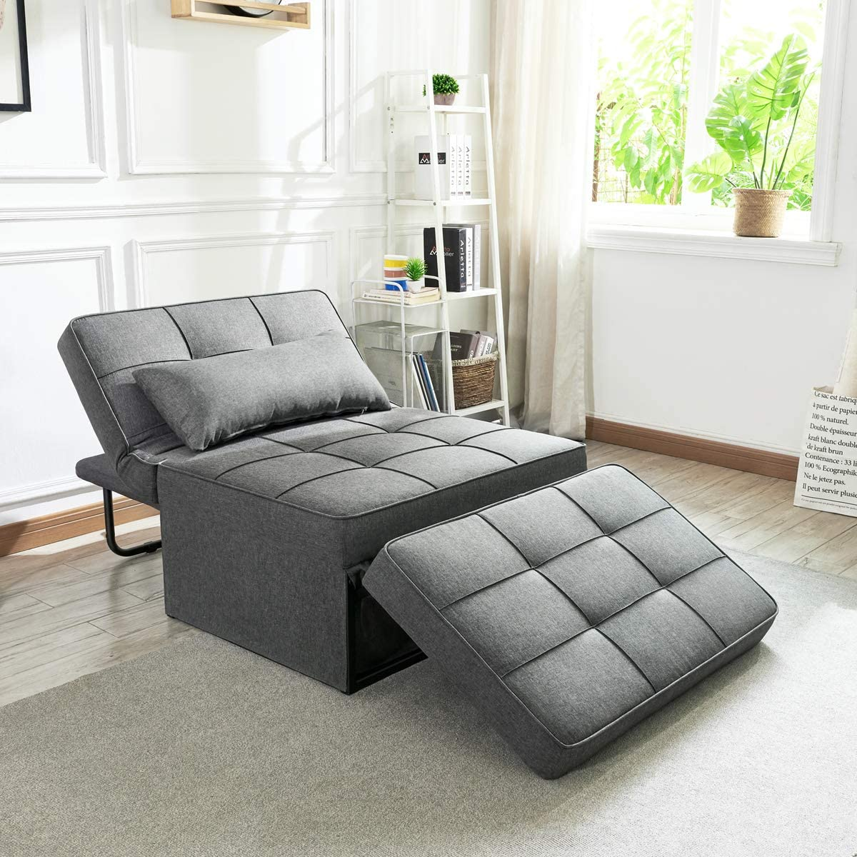 Fixed Max 48% OFF price for sale Vonanda Sofa Bed Convertible Chair in 1 4 Foldin Multi-Function