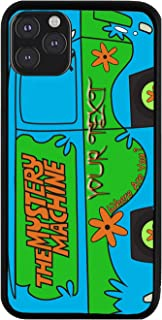 BRGiftShop Personalized Custom Name The Mystery Machine Van Rubber Phone Case for iPhone 11 Pro Max
