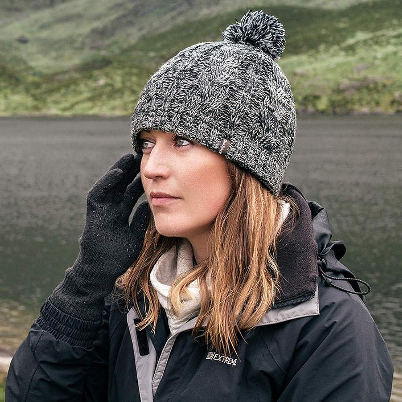 INFIKNIGHT INF Winter Waterproof Windproof Knitted Outdoor Snow Hats Breathable Thermal Jogging Hiking Hats Polar Fleece Skiing Caps Men Women