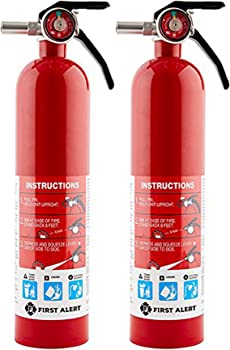 2-Pack First Alert HOME1 Rechargeable Standard Home Fire Extinguisher