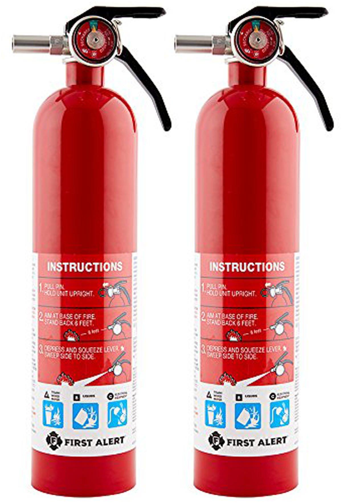 First Alert Rechargable Standard Extinguisher