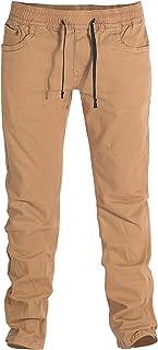 Footprint Insole Technology Pantalones Chinos de Ajuste Relajado con Cintura elástica