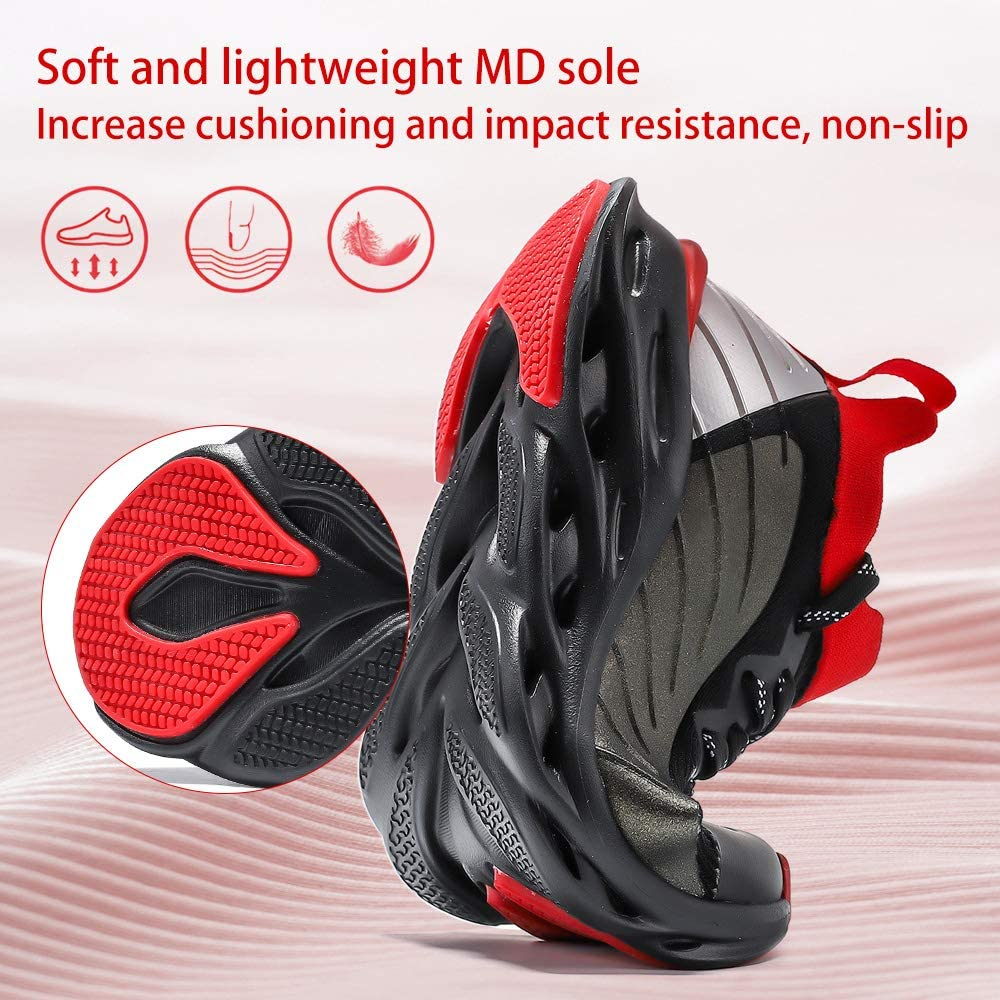 VITUOFLY Boys Sneakers Kids Running Shoes Girls Mesh Fitness Shoe Indoor Training Sneaker Lightweight Outdoor Sports Athletic Tennis Shoes for Little Kid//Big Kid