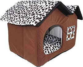 Pet Waterloo Pet Fossa-Pet nest Pet Bed Corduroy Fabric Dog House Four Seasons Universal Soft and Comfortable Cool Breatha...