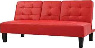 Glory Furniture Richie Sofa Bed, Red. Living Room Furniture 33