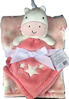 Unicorn Lovey and Baby Blanket -2 Piece Set by NK Specialty Products