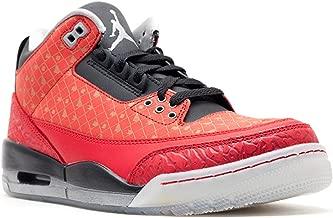 Nike Men's Air Jordan III 3 Retro DB Doernbecher Varsity Red/Metallic Silver-Black 437536-600 Shoe