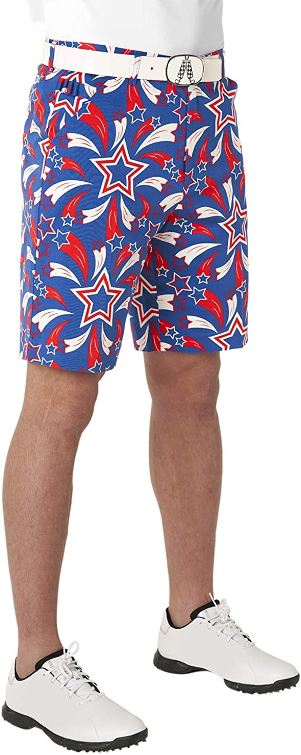 Royal Awesome Men's Patterned Shorts We OFFer low-pricing at cheap prices Golf