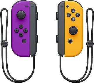 Nintendo Switch Joy-Con Controller Pair [Purple/Neon Orange]