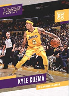 Basketball NBA 2017-18 Panini Prestige #176 Kyle Kuzma #176 Rookie NM+ Lakers