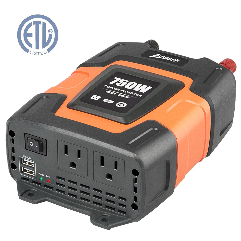 Ampeak Power Inverter Converter Outlets