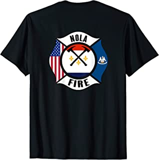New Orleans Fire Rescue Department Louisiana Firefighters T-Shirt