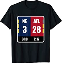 NE 3 ATL 28 Final Tee T-shirt Amazing Comeback Ever