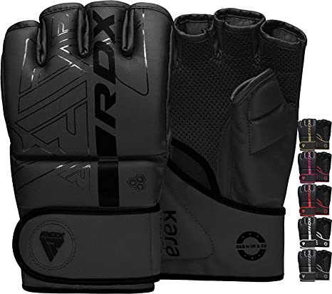 RDX MMA Gloves Grappling Sparring (Pre-Curved)
