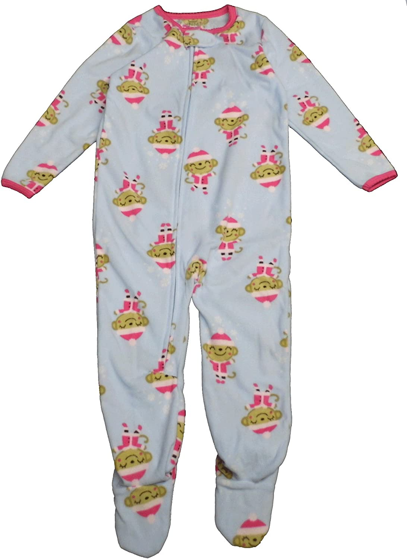 Carter's Child of Mine Made Little Girls' Toddler Microfleece Christmas Blanket Sleeper