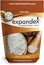 Judee's Expandex Modified Tapioca Starch (11.25 Oz-Gluten Free-Non-GMO) USA Packaged & Filled in a Dedicated Gluten & Nut Free Facility