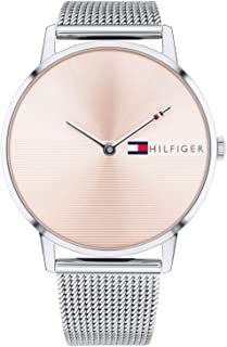 Tommy Hilfiger Women'S Pink Dial Stainless Steel Watch - 1781970