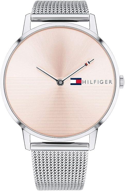 Tommy Hilfiger Reloj Análogo clásico para Mujer de Cuarzo con Correa en Acero Inoxidable 1781970