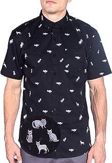 Visive Original Mens Hawaiian Short Sleeve Button Up Shirt Size S - 4XL