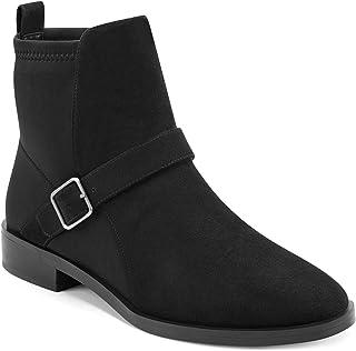 Aerosoles Women's Beata Fashion Boot, Black Fabric, 9