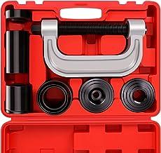 OrionMotorTech سنگین وظیفه توپ مشترک پرس و U مجموعه کیت ابزار حذف با 4x4 آداپتور، برای بیشتر 2WD و 4WD ماشین و کامیون سبک