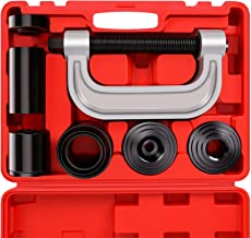 Heavy Duty Ball Joint Press & U Joint Removal Tool Kit with 4x4 Adapters, for Most 2WD and 4WD Cars and Light Trucks