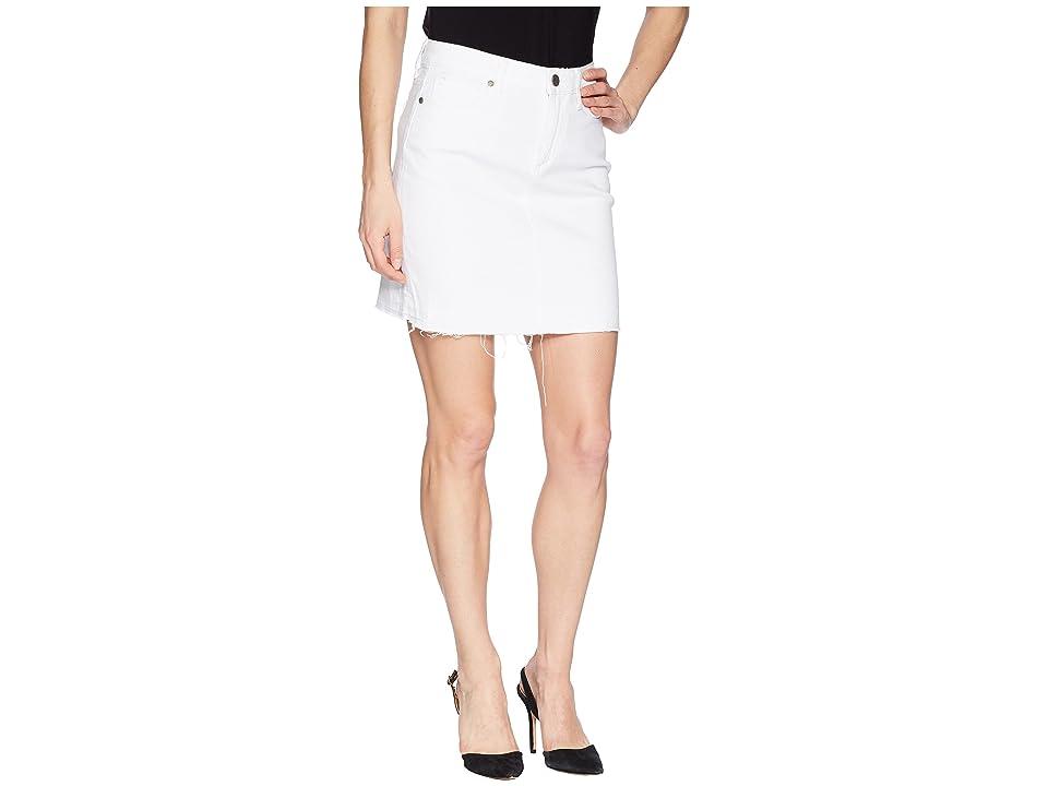 Paige Elaina Skirt (Crisp White) Women