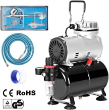 Best mini airbrush compressor with tank Reviews
