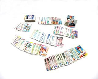 Baseball Card Collector Box With (500) 1980-1985 Topps Baseball Cards