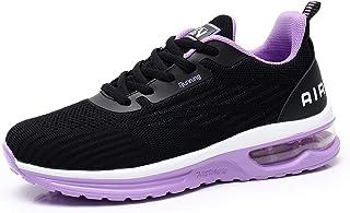 Axcone Hardloopschoenen voor dames en heren, sportschoenen, straatloopschoenen, sneakers, joggingschoenen, turnschoenen, w...