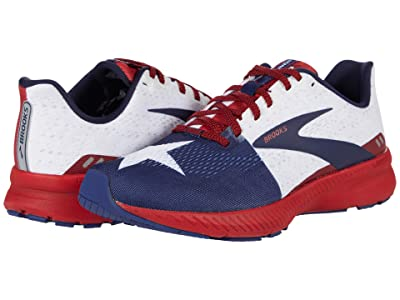 Brooks Launch 8 (True Red/Sun-dried Tomato/Twilight) Men