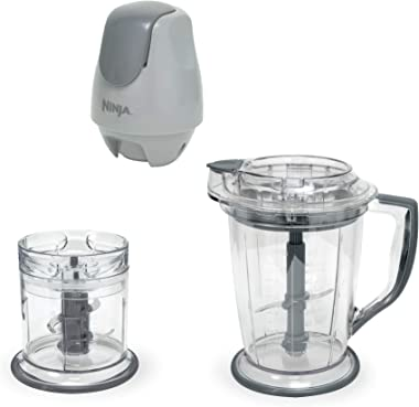 Ninja 400-Watt Blender/Food Processor for Frozen Blending, Chopping and Food Prep with 48-Ounce Pitcher and 16-Ounce Chopper